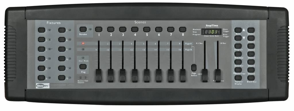 Showtec SM-8/2 16 Channel Lighting Desk 50700