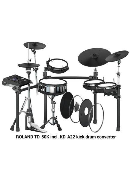 Roland ROLAND TD-50K incl. KD-A22 kick drum converter