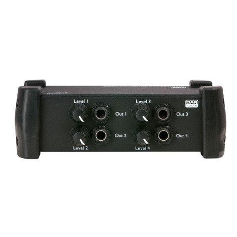DAP audio pro DAP Audio AMP-104 4 Channel Headphone Amplifier headphone mixer D1536