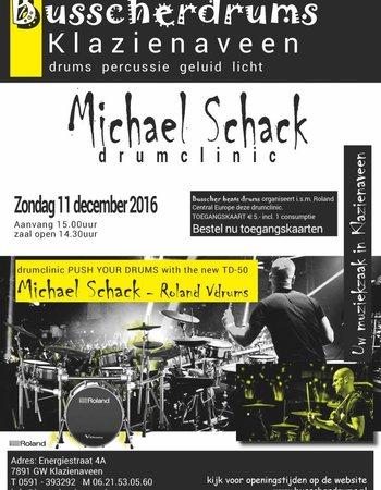 BUSSCHERDRUMS Access Map Drum Clinic Michael Schack Sunday, December 11, 2016