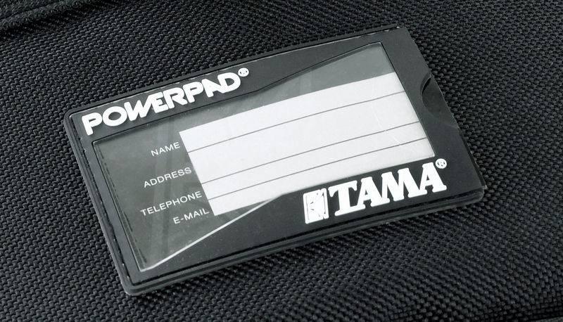 Tama  PBP200 PowerPad Drum Pedal Tasche für einzelne und Doppel-Bassdrum-Pedal