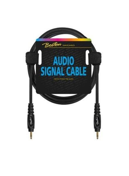Boston Boston Audio-Signalkabel, 3,5 mm Mini-Stereo-Miniklinke auf Stereo, 3,00 Meter
