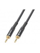 PD Power Dynamics PD Connex Stereo Cable 3.5mm Male - 3.5mm stereo Male 1.5m