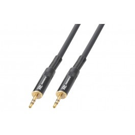 PD Power Dynamics PD Connex Stereo Kabel 3,5-mm-Stecker - 3,5-mm-Stereo-Male 1.5m