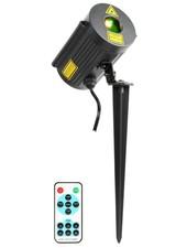 Beamz Laser IP65 Outdoor met afstandsbediening Rood & Groen