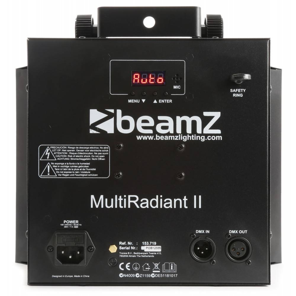 Beamz , Multi Radiant II LED 153 719