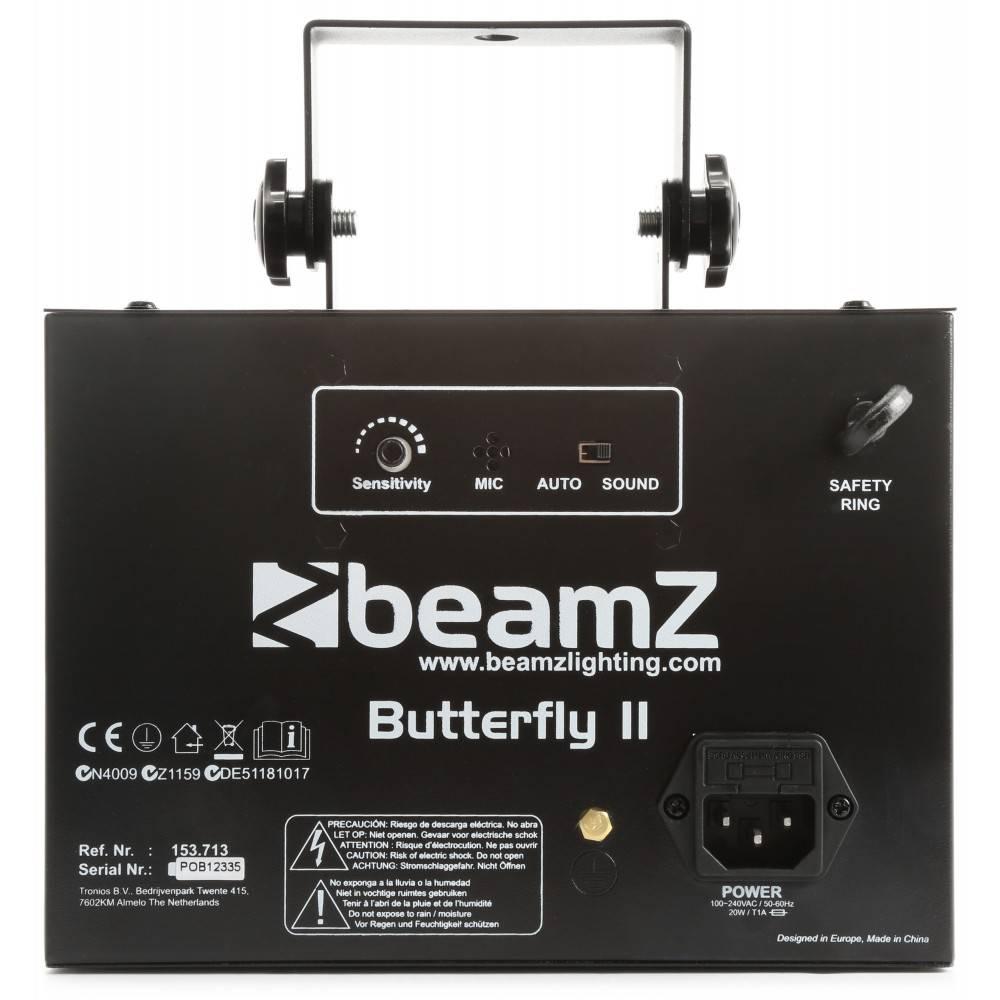 Beamz  Butterfly II LED mini derby 153.713