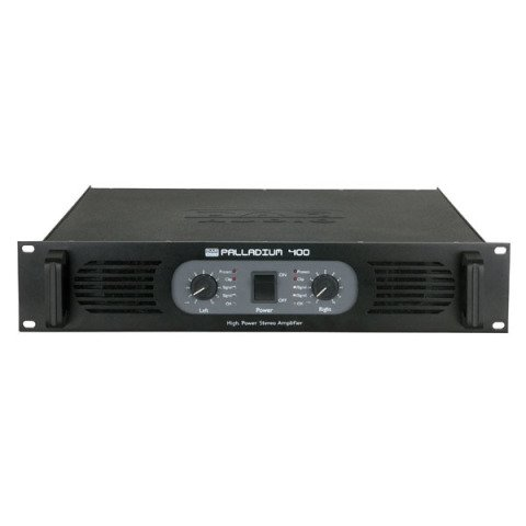 DAP audio pro DAP-Audio P-400 Stereo Power Amplifier, Black D4131B