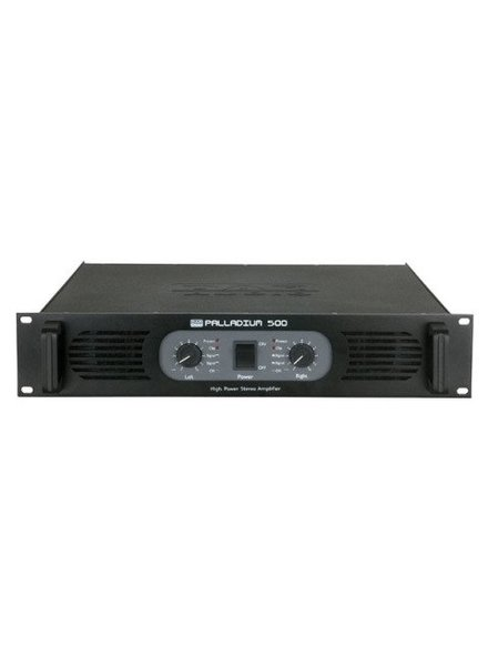 DAP audio pro DAP-Audio P-500 Stereo Power Amplifier, Black D4132B