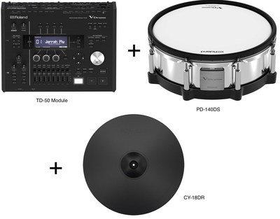 Roland TD50DP TD50DP Demo TD-50D Pack TD50 + CY-18DR + PD-140DS