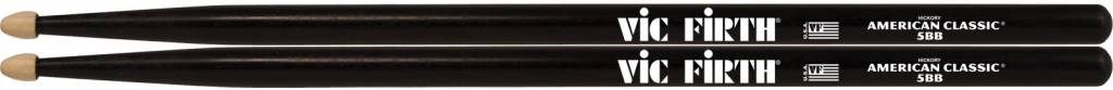 Vic Firth  5BB American Classic Hickory Schwarz