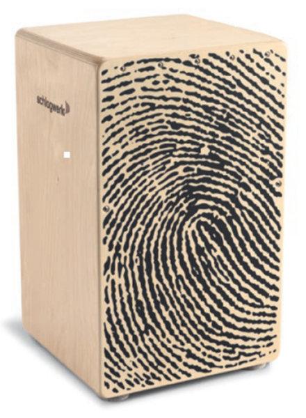 Schlagwerk CP107 Cajon X-One-Fingerabdruck
