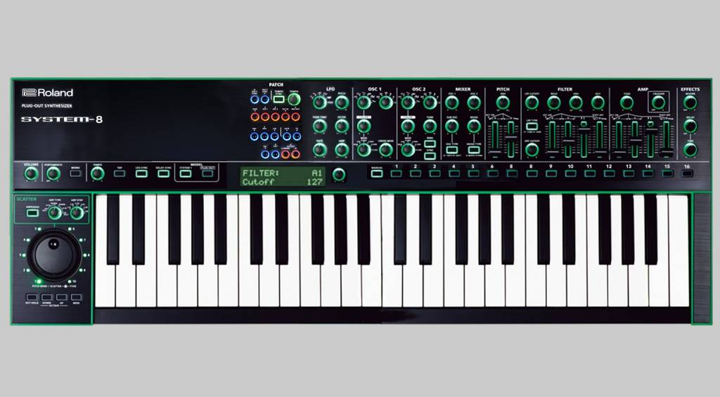 Roland AIRA SYSTEM-8 performance synthesizer