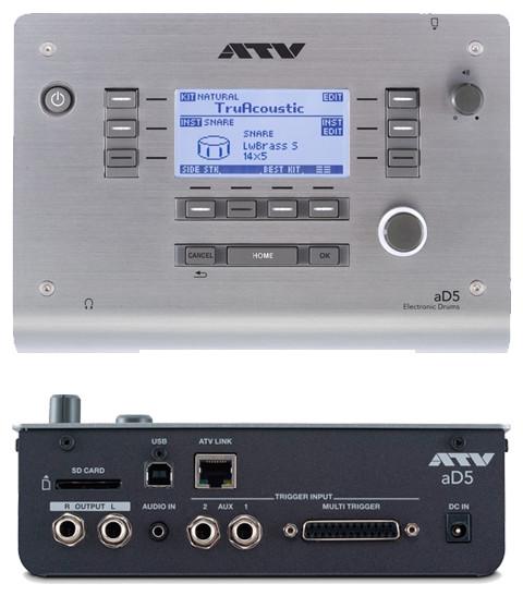 ATV  AD5 elektronische drummodule PAT