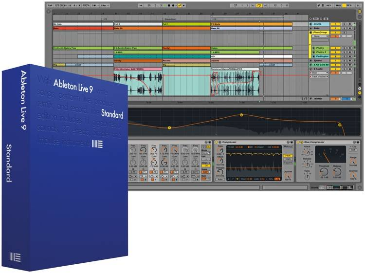 Ableton LIVE 9 STANDARD (Upgrade) from Lite 86979 download nu 20% lager met update naar versie