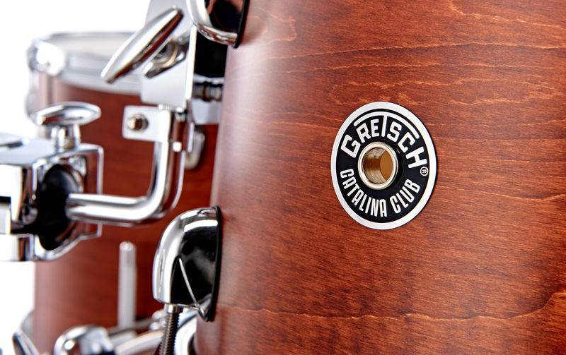 Gretsch Drums CT1-J404 Catalina Club 2014 Satin Walnut Glaze