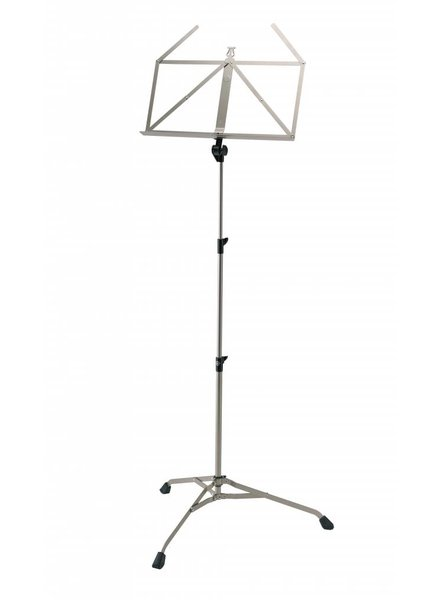 K&M K & M 107 nickel lectern foldable collapsible 10700-000-11