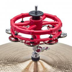 LP Latin Percussion Latin Percussion 193 CLICK Hi Hat Tambourine
