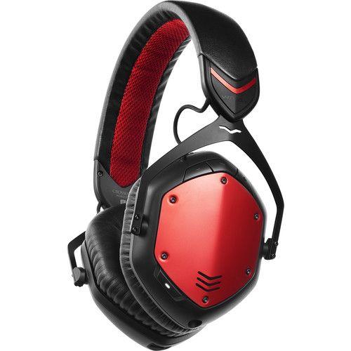 V-MODA  XFBT Crossfade Wireless Headphones (Rouge)