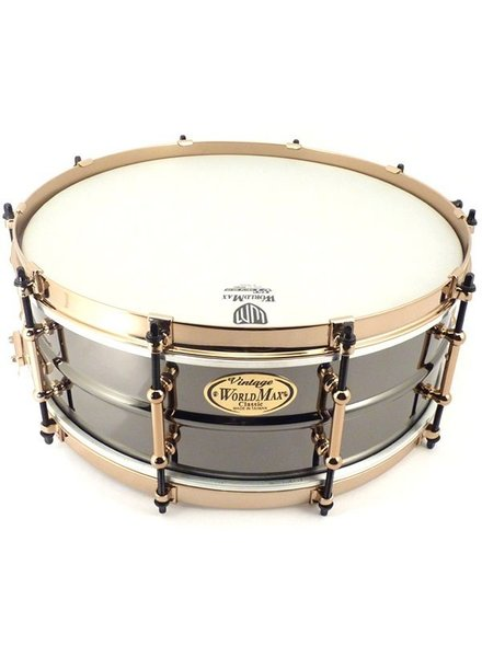 Worldmax Schwarz Messing 14 x 6..5 ""