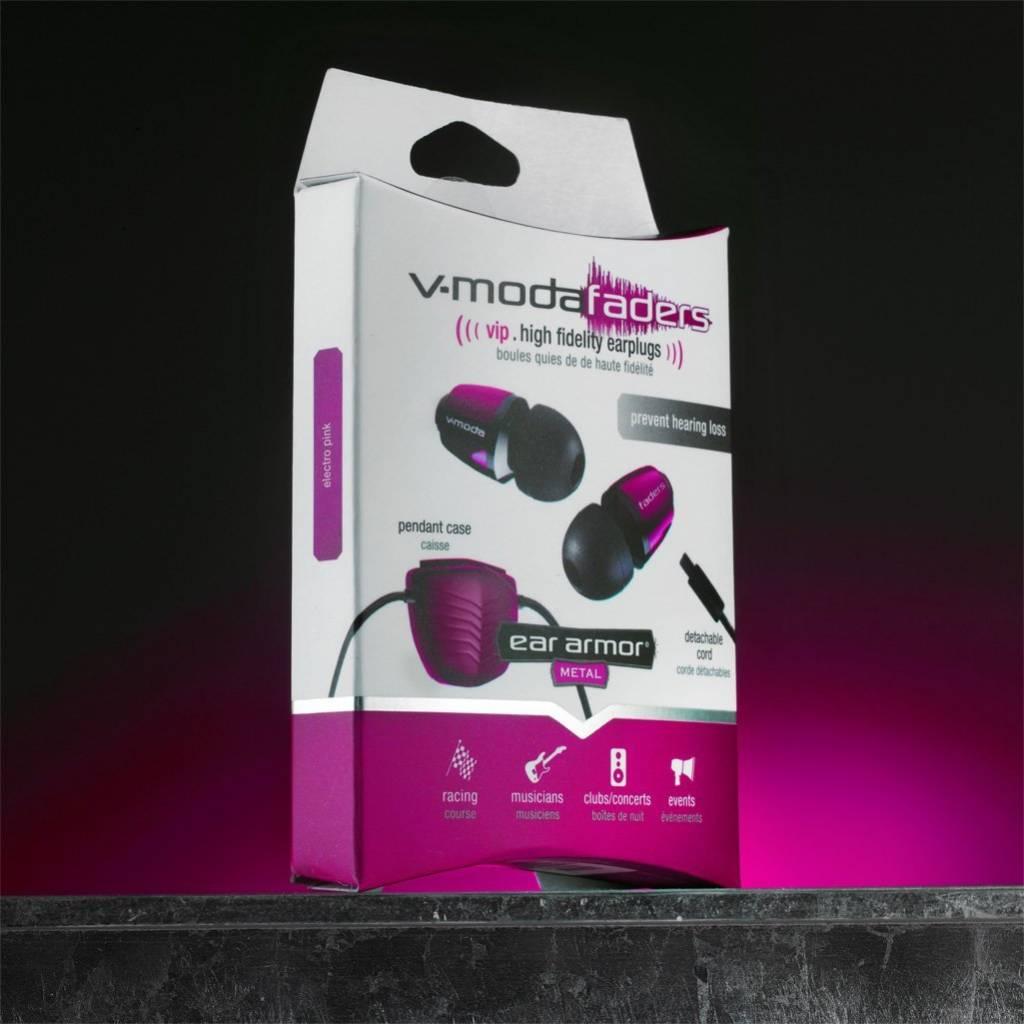 V-MODA EA VFD HP FADERN VIP ELECTRO PINK Gehörschutz