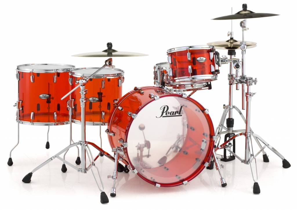 Pearl Perle CRB524FP / C731 Crystal Rock Beat-Schlagzeug Ruby Red