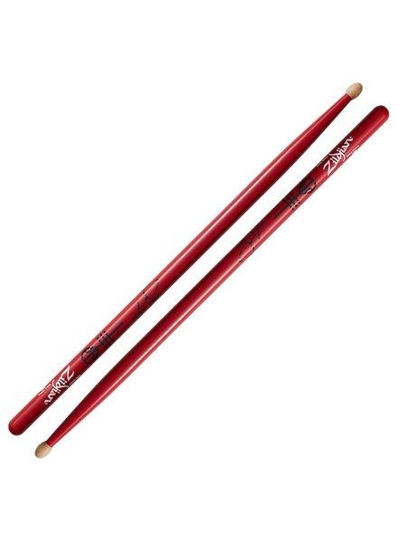Zildjian Josh Dun  drumsticks Artist Series, red ZIASJD ASJD