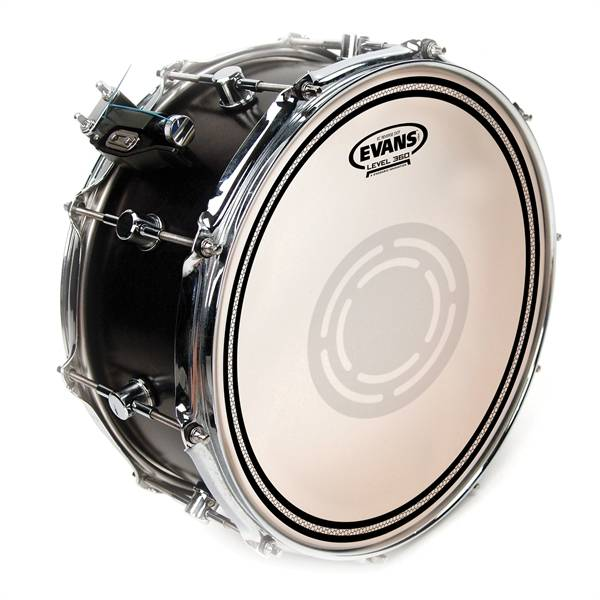 "Evans EVANS B14EC1RD 14"" EC1 REVERSED DOT coated snaredrum tom slagvel"