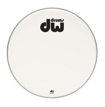 """DW drumworkshop DW Bass Drum vorderen Kopf glatten weißen zweilagig 23 """"DRDHAW23K"""