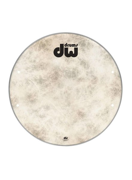 "DW drumworkshop DW Bass Drum Frontkopf-Faser-Haut 23 ""DRDHFS23K"