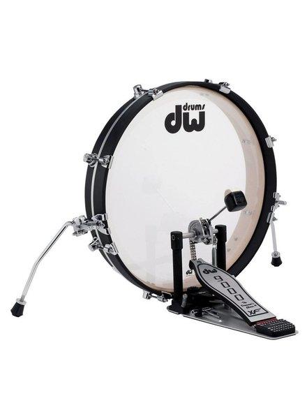DW drumworkshop PANCAKE DDBD0320BLCR - DESIGN SERIES BASS DRUM 20 x 2.5