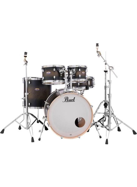 Pearl DMP925S / C262 DECADE Satin Black Burst drum incl. HWP830 hardware pack