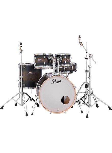 Pearl PEARL DMP925S / C262 JAHRZEHNT Satin Black Burst Trommel inkl. HWP830 Hardware Pack