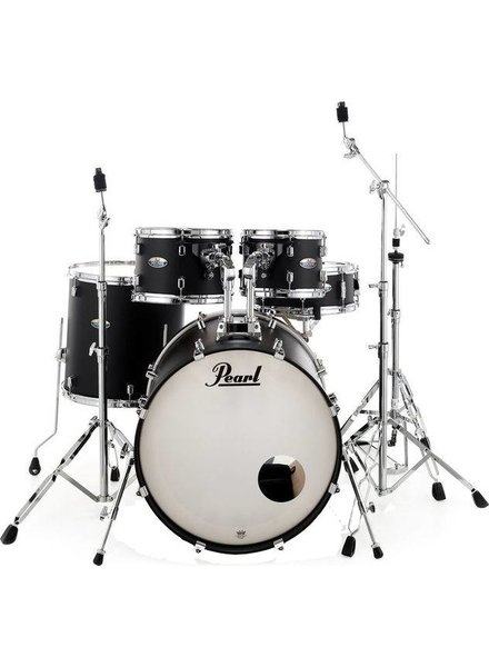 Pearl DMP925S/C227 DECADE Satin Slate Black drumstel incl. HWP830 hardwarepack