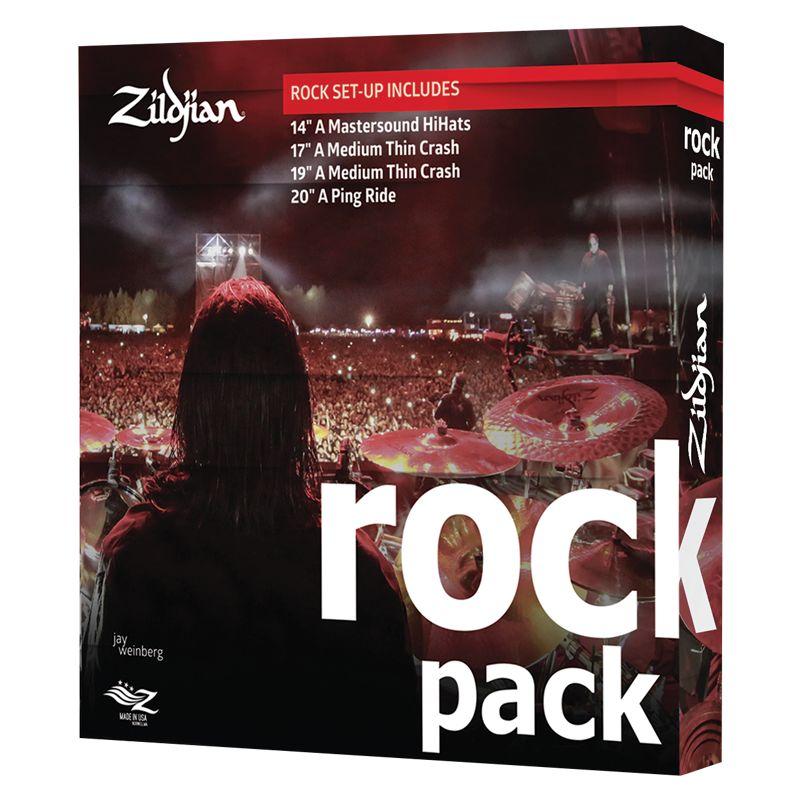 Zildjian A0801R ROCK MUSIC PACK A BOX SET ZIA0801