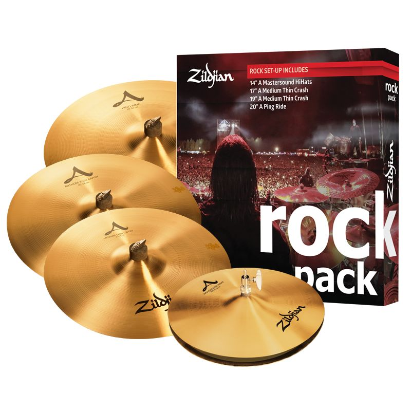 Zildjian A0801R ROCKMUSIK A BOX SET ZIA0801 PACK