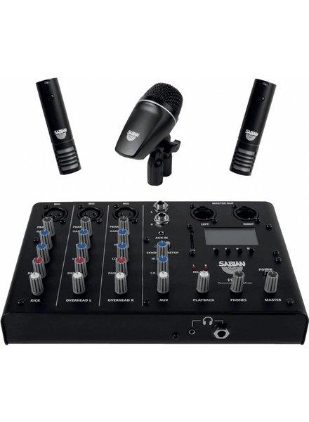 Sabian PSA SSKIT drum microfoon mixer, recording kit