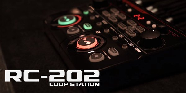 Boss RC-202 Loop Station - Shop Model