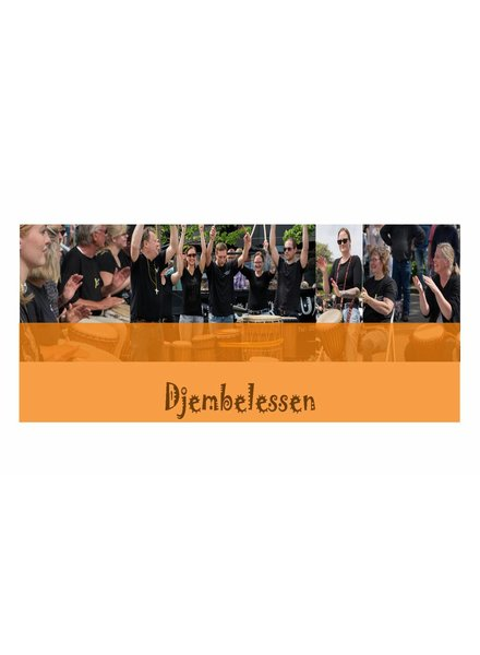 Busscherdrums djembe9150 Djembe lesson single lesson Beginners 1 lesson