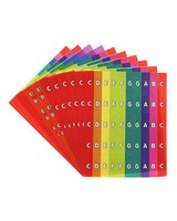 Boomwhackers Boomwhackers Chroma Notas Stick-Ons BW SNC1
