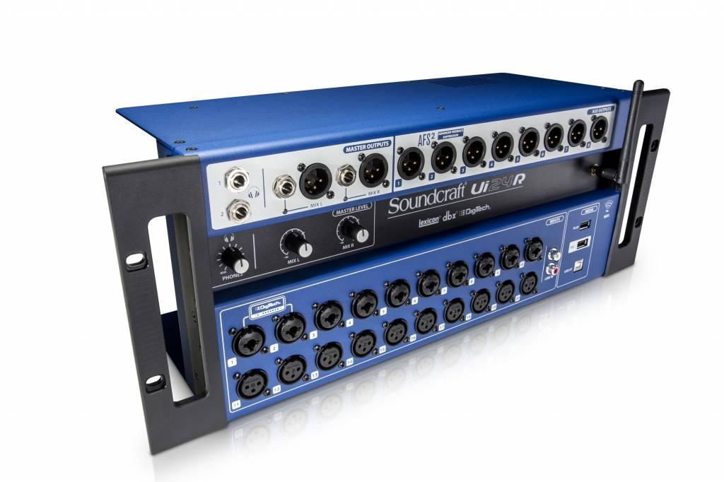 Soundcraft  UI24R digitale mixer