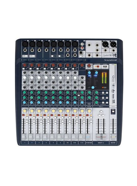Soundcraft Signature 12 mixer mengpaneel