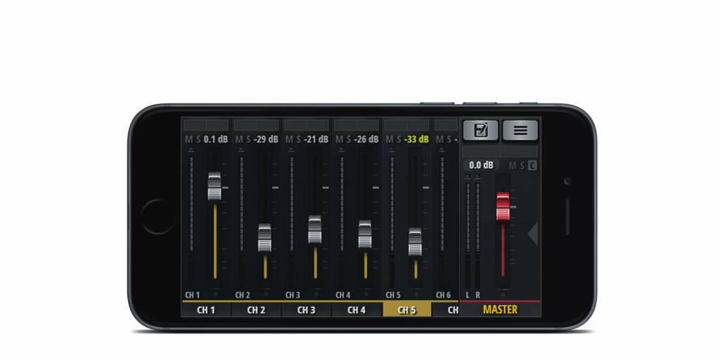 Soundcraft Sound digitale Mischer UI12