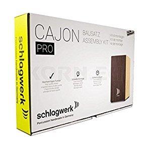 Schlagwerk Cajon building package PRO Wenge