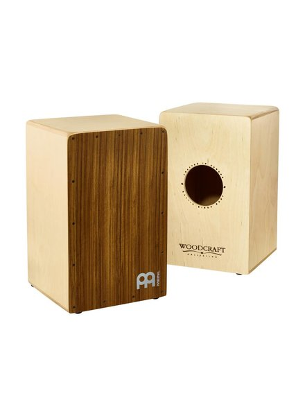 Meinl Percussion WCAJ300NT-OV Birch Woodcraft Snare Cajon with Ovangkol Frontplat