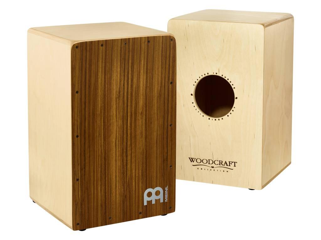 Meinl WCAJ300NT-OV Birkenast Craft Snare Cajon mit Ovangkol Frontplatte