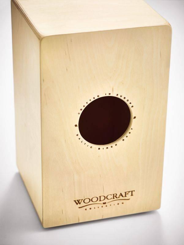 Meinl WCAJ300NT-OV Birch Woodcraft Snare Cajon with Ovangkol Frontplate