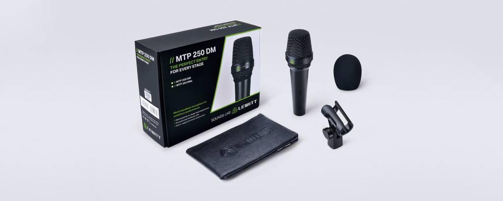 Lewitt MTP250DMS Gesangsmikrofon mit swith
