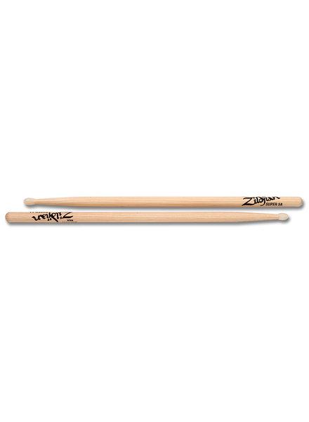 Zildjian Drumsticks, Hickory Nylon Tip series, Super 5A, natural