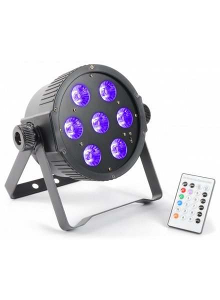 Beamz FlatPAR 7x 18W 6-in-1 LED 151.279 demo model